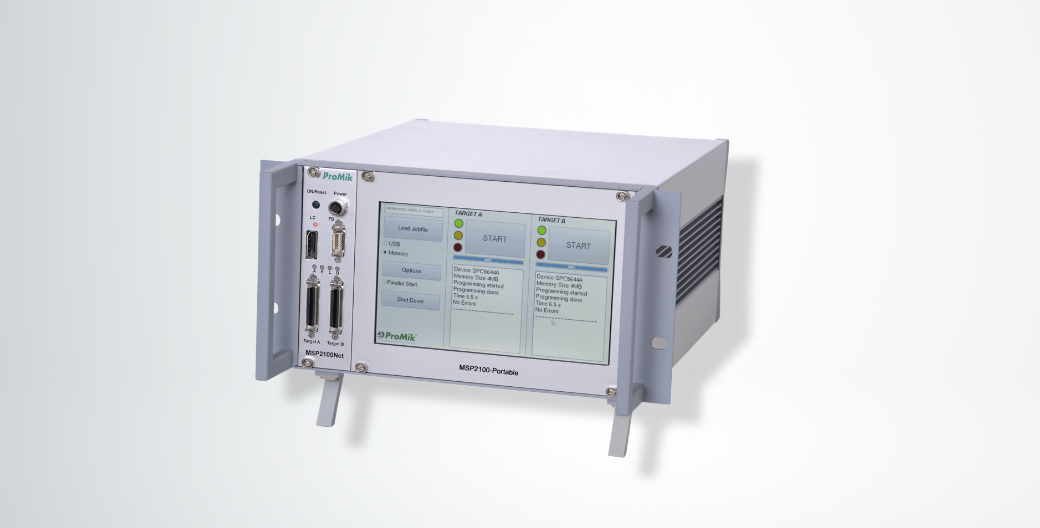 MSP2100Net Modular Portable In-Line Programming System
